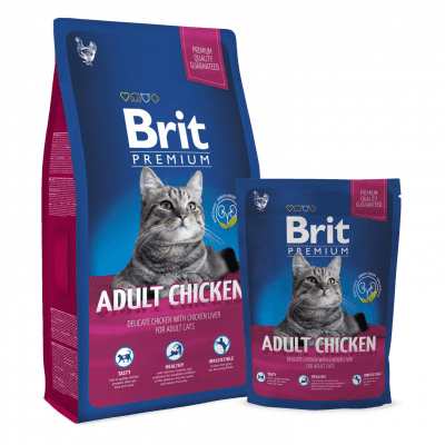 Brit Premium Cat Aduld Chicken