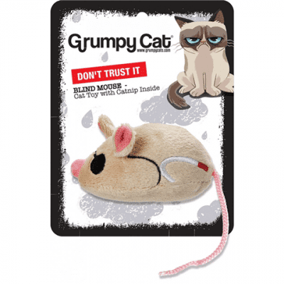 Grumpy Cat Blind Mouse